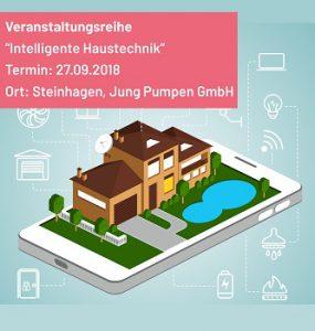 Veranstaltungsreihe zum Thema Smart Home bei Pentair Jung Pumpen
