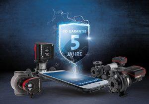 Die Grundfos GO Garantie – 5 Jahre Sicherheit ab Inbetriebnahme