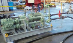Dynapumps Supplies Positive Displacement Pump Package for Gas Plant Upgrade Project