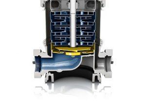 Pumpenlaufrad sorgt für verbessertes Saugverhalten