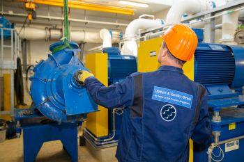 Uhthoff & Zarniko setzt Pumpe in Hauptpumpwerk Pinnow instand