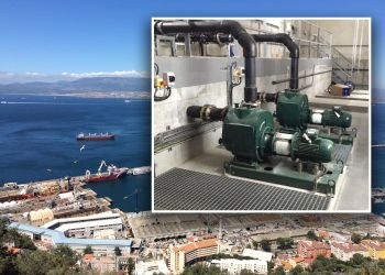 P&M Pumps Provide Vital Support in Dealing with Gibraltar´s Sewage