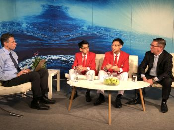 Students from Singapore Take Top Honor at the Prestigious Stockholm Junior Water Prize
