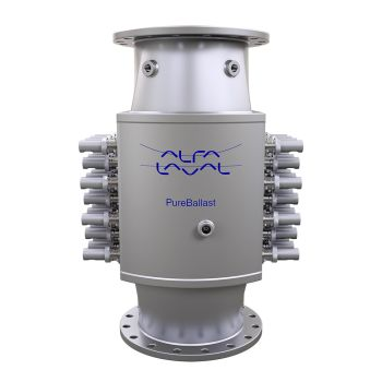 New 1500 m3/h Reactor for Alfa Laval PureBallast 3 Will Handle Large Ballast Water Flows with Even Greater Efficiency