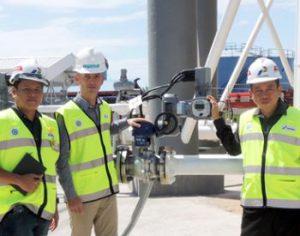 AUMA Systemlösung für Pertamina Tanklager