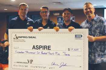 Aspire Receives a Large Donation from the Inpro/Seal Family