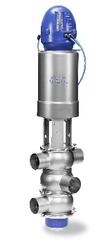 New Alfa Laval Mixproof 3-body Valve Designed for Hygienic Processes