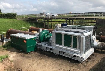 New 24-inch Mobile Emergency Pump from BBA for Dutch Water Board