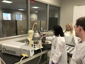 Quantum Peristaltic Bioprocessing Pump Selected by Biotech Training Institute