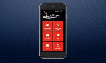 Seepex Service App mit neuen Features