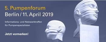 5. Pumpenforum Berlin – Expertenwissen für Pumpenspezialisten