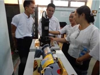 Ebara Donates Pumps to Yangon Technological University in Myanmar