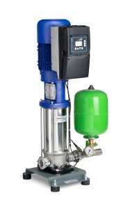 New High-efficiency Pressure Booster Systems