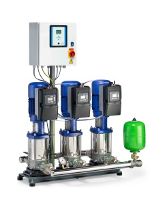 New, Field Bus Compatible Pressure Booster Systems