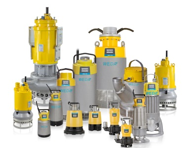 Atlas Copco Completes Its Portfolio of Weda Submersible Dewatering Pumps