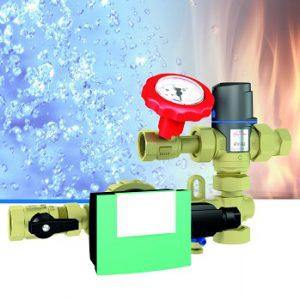 Neues Warmwasser-Zirkulationssystem WZS 75 von Afriso