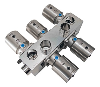 Diaphragm Valves for Large Swiss Biopharmaceutical Plant