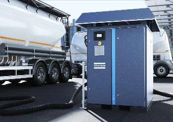 Schüttgut mit neuen Kompressoren und Gebläsen von Atlas Copco noch effizienter fördern