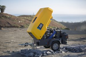 Atlas Copco Launches Mobile Electric VSD Compressors For Tough Environments