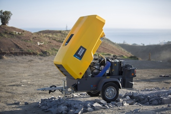Atlas Copco Launches Mobile Electric VSD Compressors For Tough Environments