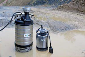 Neue Baupumpen von Homa minimieren Verstopfungsrisiko und ermöglichen Dauerbetrieb durch Mantelkühlung