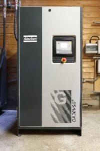 Drehzahlgeregelter Kompressor rechnet sich für Sägewerk in gut drei Jahren