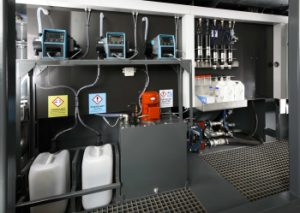 Qdos and Apex Pumps Help Treat Hydrodemolition Water in Latest EcoClear Machine
