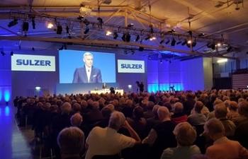 Peter Löscher als Verwaltungsratspräsident von Sulzer wiedergewählt