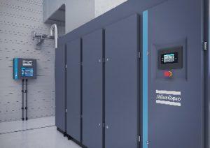 Atlas Copco optimiert Baureihe luftgekühlter, ölfrei verdichtender Kompressoren