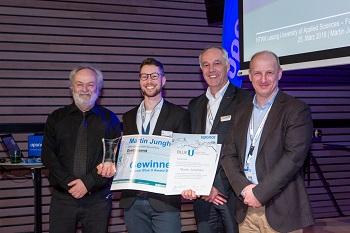 Martin Junghans gewinnt Uponor Blue U Award 2019