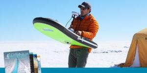 Abschmelzen des Grönland Eises mit Xylems SonTek Technologie messen