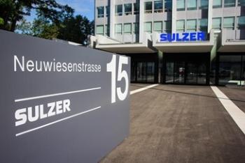 Sulzers Bestellungseingang im ersten Quartal 2019 um 10 Prozent gewachsen