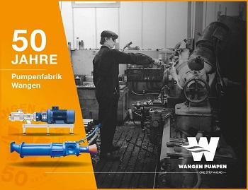 Pumpenfabrik Wangen Celebrates 50th Company Anniversary
