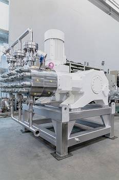 Hermetically Tight Design: Aseptic Diaphragm Pump Technology Ensures Maximum Production Safety in Food Industries