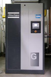 Neue Druckluftstation für Eiscreme-Hersteller