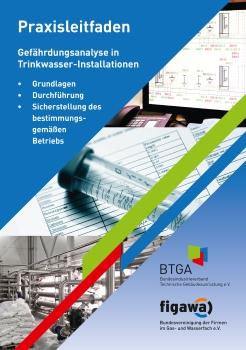 """Überarbeitete Auflage des Praxisleitfadens """"Gefährdungsanalyse in Trinkwasser-Installationen"""" erschienen"""