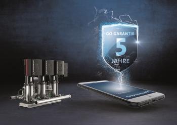 Grundfos Go Garantie jetzt auch für Druckerhöhungsanlagen