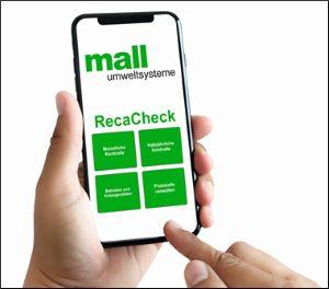 Abscheider bequem warten – mit der neuen Mall-App