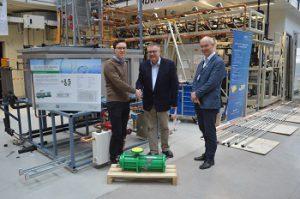 Hermetic Pumpen spendet hermetische CO2-Kältemittelpumpe für die Forschung