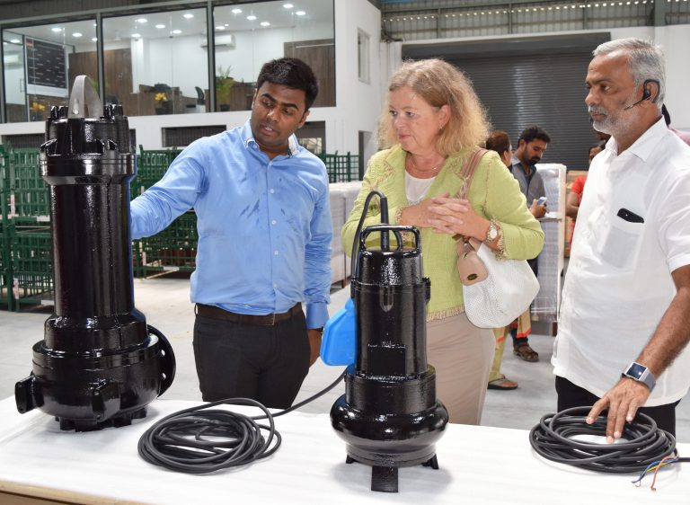 Ekki Pumps Breaks Ground for new JV Factory in Coimbatore