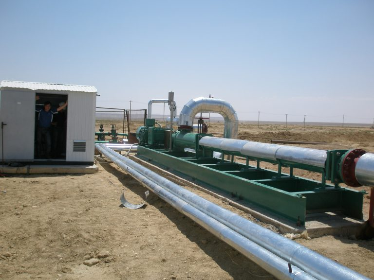 Multiphase Pumps for Oil-Water-Sand-Gas Mixtures from Netzsch