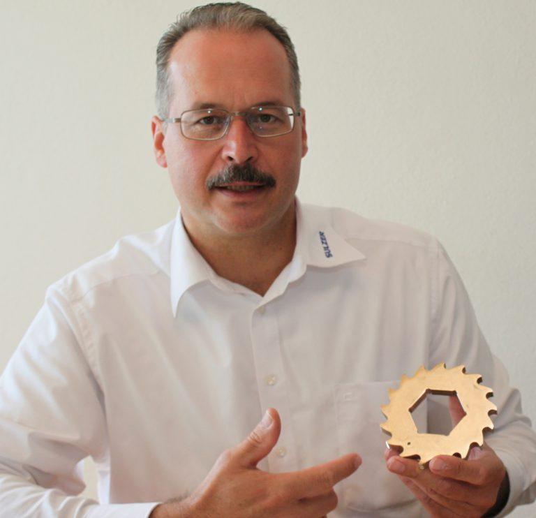 Mit Andreas Riess löst Sulzer alle Feststoffprobleme