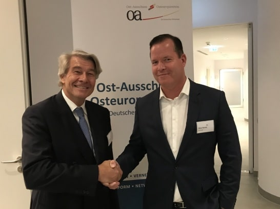 Oliver Hermes Is the New Chairman of the German Eastern Business Association
