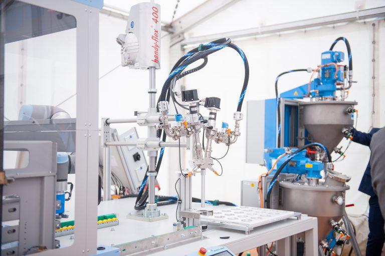 Fichter Maschinen rely on ViscoTec dispensing technology