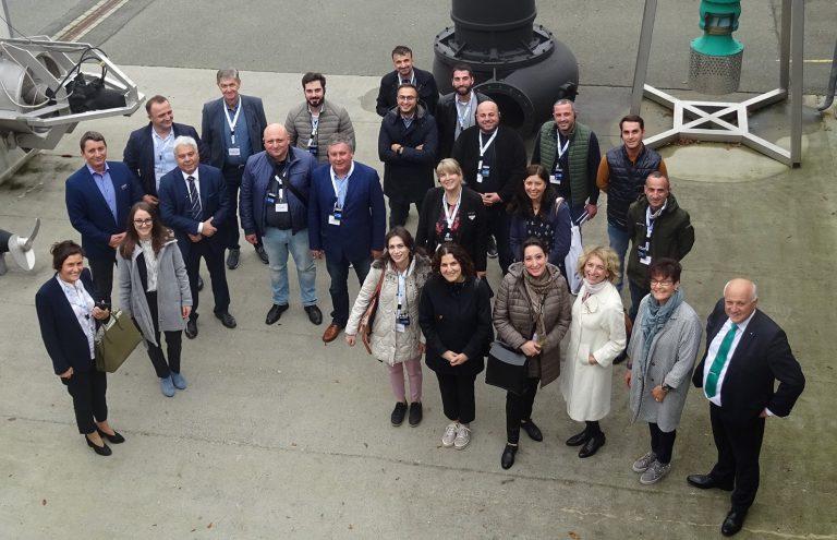 Delegation aus Georgien zu Besuch bei WILO