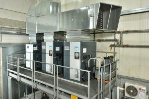 Kompressoren-Trio von Atlas Copco liefert Druckluft nach Maß