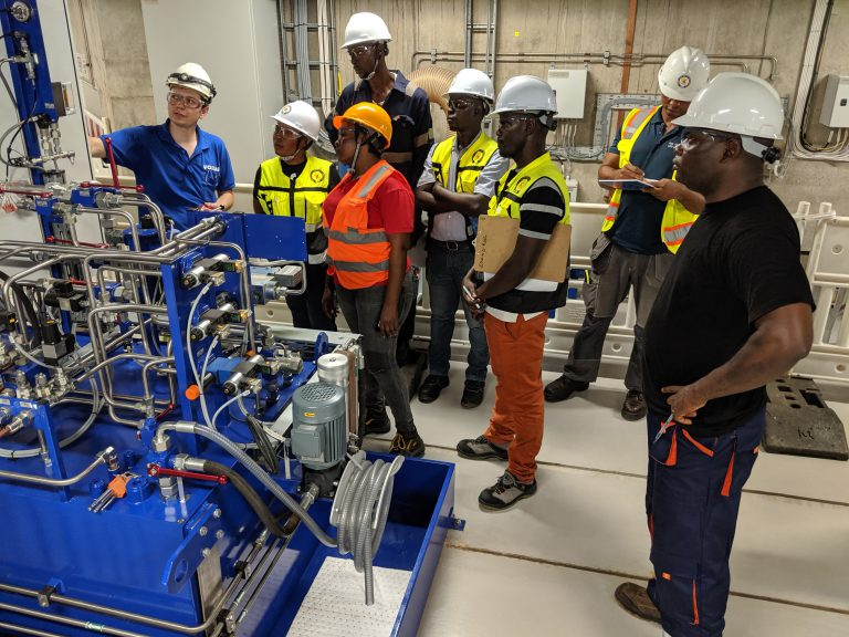 Liberian Hydropower Plant Operator Counts Again on the Training Offer of Voith HydroSchool