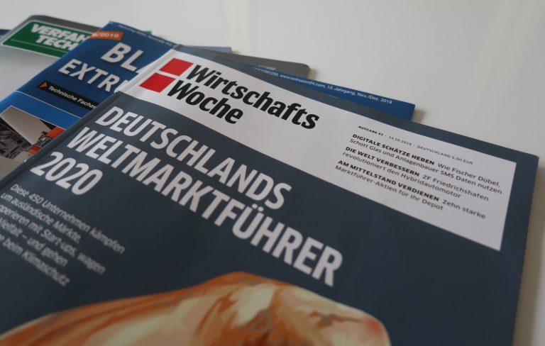 Busch Vacuum Solutions als Weltmarktführer 2020 ausgezeichnet