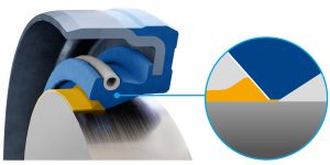 Freudenberg: New Coating Reduces Wear and Shaft Runout in the Seal