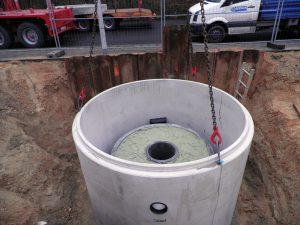 Der Mall-Sickertunnel CaviLine – Neu auf der InfraTech: der Mall-Sickertunnel CaviLine Regenwasser vor Ort versickern und behandeln